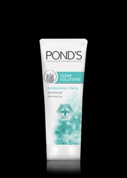 Clear Solutions Anti-Bacterial Facial Scrub