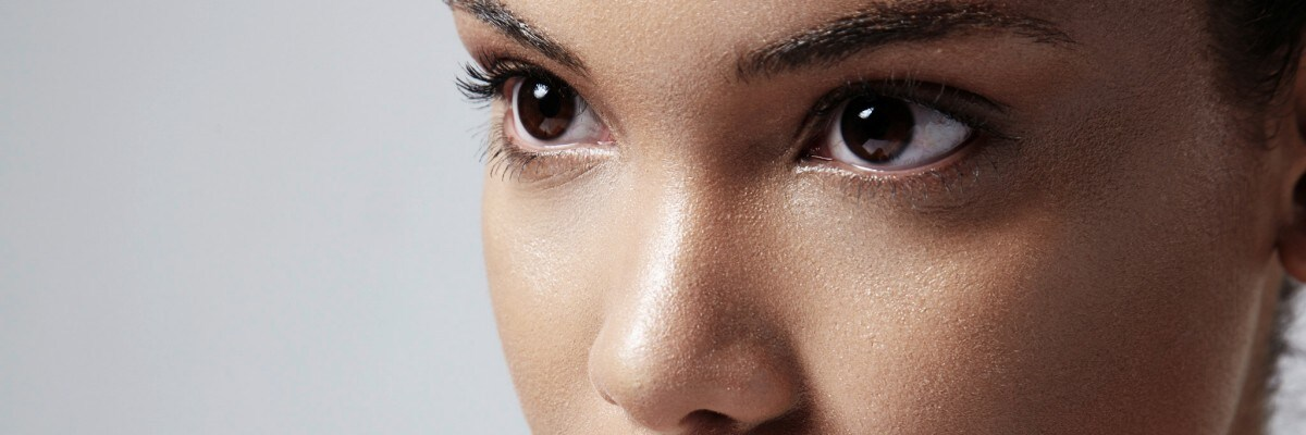 Female facial shot