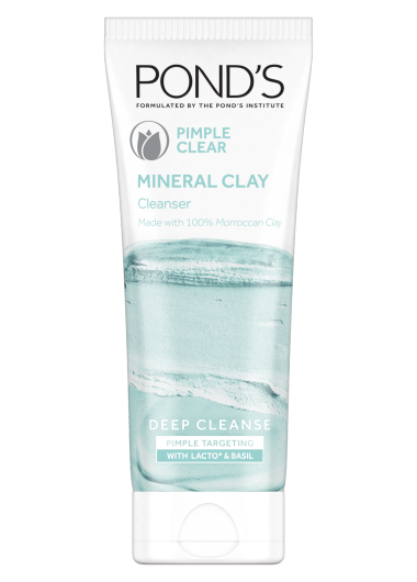Pimple Clear Mineral Clay Cleanser