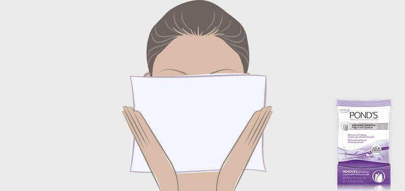 The best way to remove makeup? Use your towelette right!